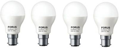 FORUS-7W-B22-560L-LED-Bulb-(Cool-Daylight,-Pack-Of-4)