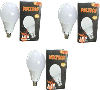 Voltech-Engineerings-12-W-LED-Bulb-B22-White-(pack-of-3)