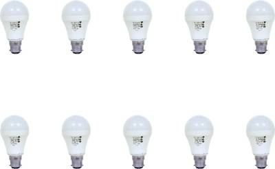 9W-Aluminium-Body-White-LED-Bulb-(Pack-of-10)