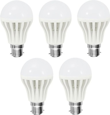 Orient-9-W-LED-Bulb-B22-White-(pack-of-5)