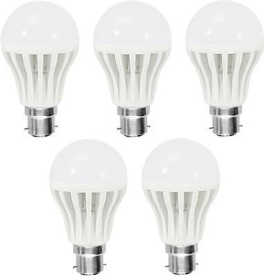 7W-White-LED-Bulb-(Pack-of-5)-