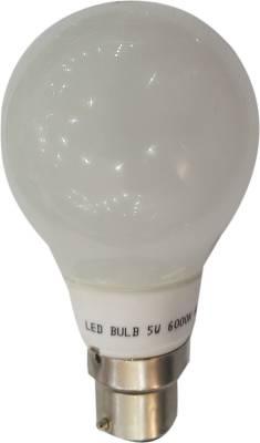 5-W-LED-Bulb-B22-Yellow