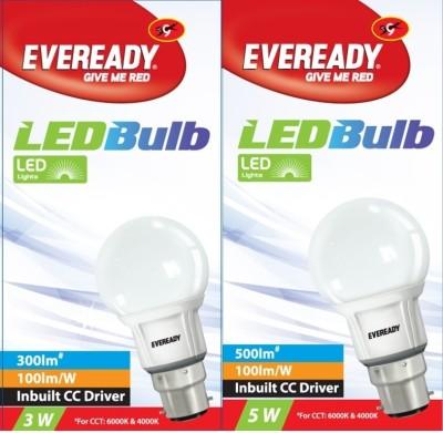 Eveready-3-W,-5-W-Combo-4000K-LED-Bulb-White-(pack-of-2)
