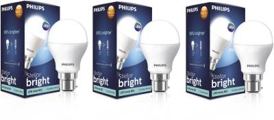 Philips-Stellar-Bright-10.5W-B22-1055L-LED-Bulb-(Cool-Day-Light,-Pack-Of-3)