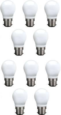 3-W-B22-QA0301-LED-Bulb-(White,-Pack-of-10)