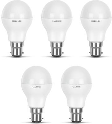 Halonix 12 W Standard B22 LED Bulb(White, Pack of 5) at flipkart