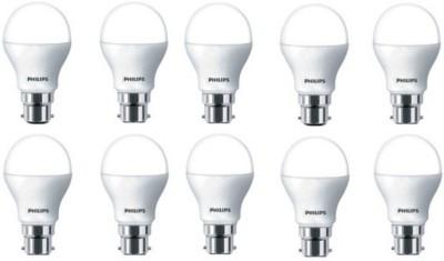 Philips 9 W B22 LED Bulb(White, Pack of 10) at flipkart