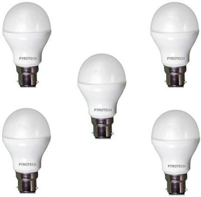 Pyrotech-9-W-LED-Bulb-(Cool-White,-Pack-of-5)