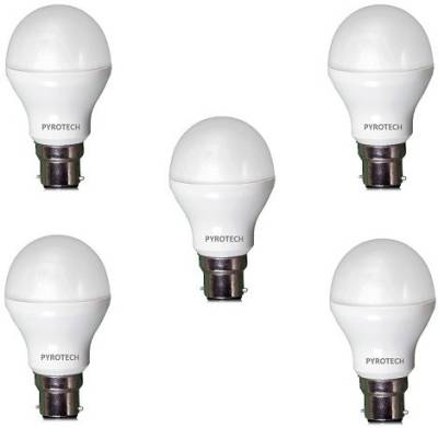 Pyrotech 5W LED Bulb (White, Pack of 5) Image