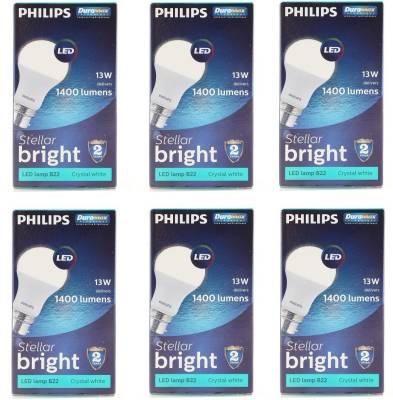 13W-B22-1300L-LED-Bulb-(White,-Pack-of-6)-