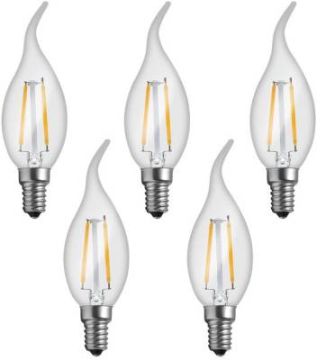 Imperial-16161-2W-E14-LED-Bulb-(Yellow,-Pack-Of-5)