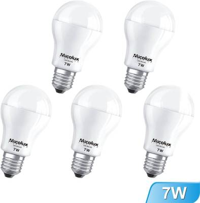 7W-Cool-Day-Light-E27-Base-LED-Bulbs-(Pack-Of-5)