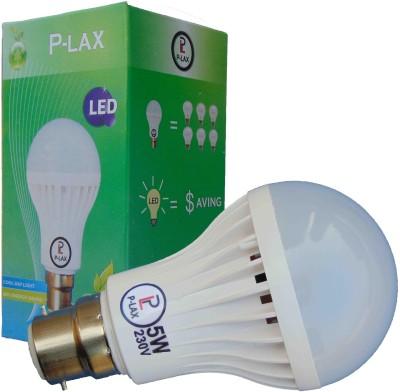 P-Lax-5W-White-LED-Bulb-(Pack-of-10)