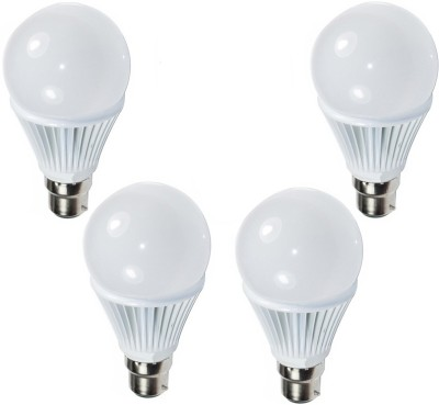 Paracops-Ultra-9W-White-LED-Bulb-(Pack-of-4)