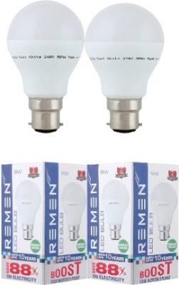 REMEN-9W-LED-Ultra-Morw-Bulb-(White,-Pack-Of-2)