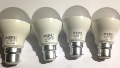 IPL-7W-B22-LED-Bulb-(White,-Set-of-4)