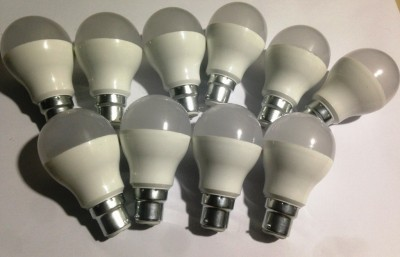 9-W-B22-LED-Bulb-(White,-Pack-of-10)