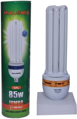 Halonix 85 W 4U CFL Bulb (Cool White) Image