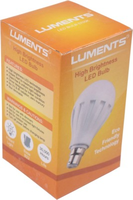 Luments-3W-460-Lumens-White-Eco-LED-Bulbs-(Pack-Of-2)