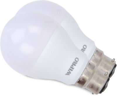 7-W-Garnet-LED-6500K-Cool-DayLight-Bulb-B22-White-(pack-of-2)