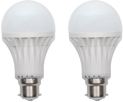 Jmt-Plus-15W-Plastic-450-Lumens-White-LED-Bulb-(Pack-Of-2)