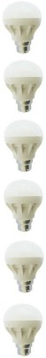 Pure-N-Safe-5W-White-LED-Bulbs-(Pack-Of-6)
