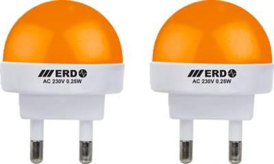 0.25-W-LED-Night-Lamp-Bulb-B23-Orange-(pack-of-2)