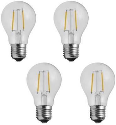 Imperial-DYP02-2W-E27-LED-Filament-Bulb-(Yellow,-Pack-Of-4)