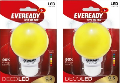 Eveready-0.5W-Yellow-Deco-LED-Bulb-(Pack-of-2)