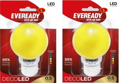 0.5W-Yellow-Deco-LED-Bulb-(Pack-of-2)-