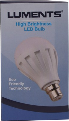 Luments-9W-460-Lumens-White-Eco-LED-Bulbs-(Pack-Of-5)