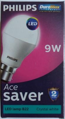 Philips 9 W Globe B22 LED Bulb White Philips Bulbs