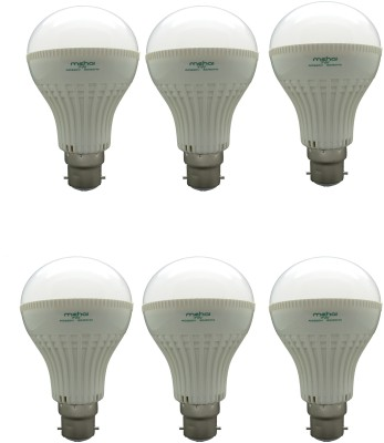 Mehai-Super-Bright-7W-LED-Bulbs-(White,-Pack-of-6)