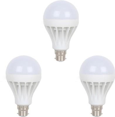 Earton-5W-B22-LED-Bulb-(White,-Set-of-3)
