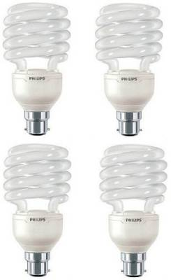Philips Tornado 23 W CFL Bulb (Warm White, Pack of 4) Image
