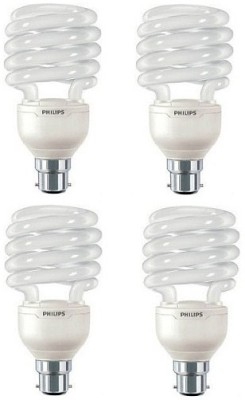 Philips 23 W B22 CFL Bulb(Yellow, Pack of 4)  available at flipkart for Rs.1194