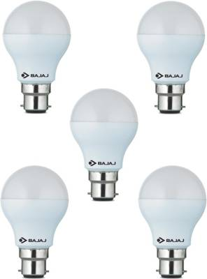 5-W-LED-CDL-B22-CL-Bulb-White-(pack-of-5)