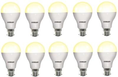 Eveready 12 W Standard B22 LED Bulb(Yellow, Pack of 10) at flipkart