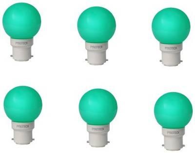 0.5W-LED-Bulb-(Green,-Pack-of-6)-