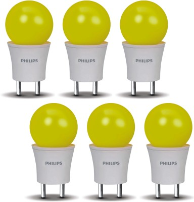 0.5-W-LED-Joyvision-Plug-N-Play-Bulb-Yellow-(pack-of-6)