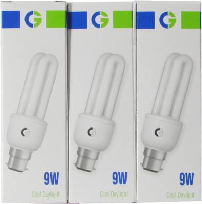 Greaves-9-W-CFL-Bulb-(Cool-Daylight,-Pack-of-3)