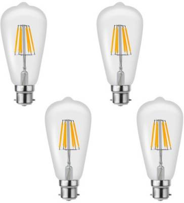 Imperial-16197-6W-B22-LED-Filament-Bulb-(Yellow,-Pack-Of-4)