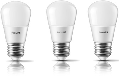 Philips-4W-E27-350L-LED-Bulbs-(White,-Pack-of-3)