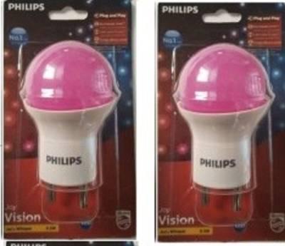 0.5-W-LED-Bulb-(Pink,-Pack-of-2)-