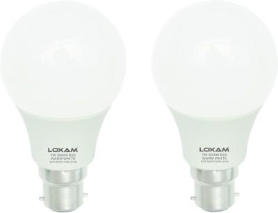 Loxam-7W-LED-Bulbs-(Warm-White,-Pack-of-2)