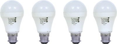 Donex-9W-Aluminium-Body-White-LED-Bulb-(Pack-of-4)