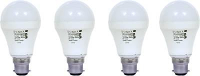 9W-Aluminium-Body-White-LED-Bulb-(Pack-of-4)