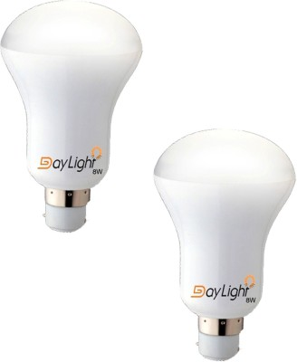 Daylight-Technology-8-W-LED-Bulb-(White,-Pack-of-2)