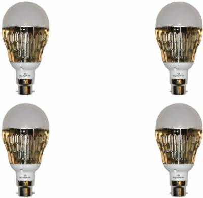 Bigapple 11W LED Bulb (Yellow, Pack of 4) Image