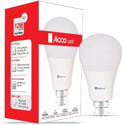 Acco-12W-B22-LED-Bulb-(White)